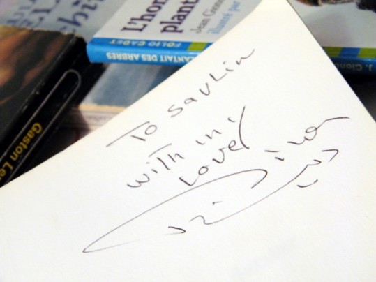 autographe Dina