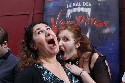 Joanna Mendil Bal des Vampires Paris
