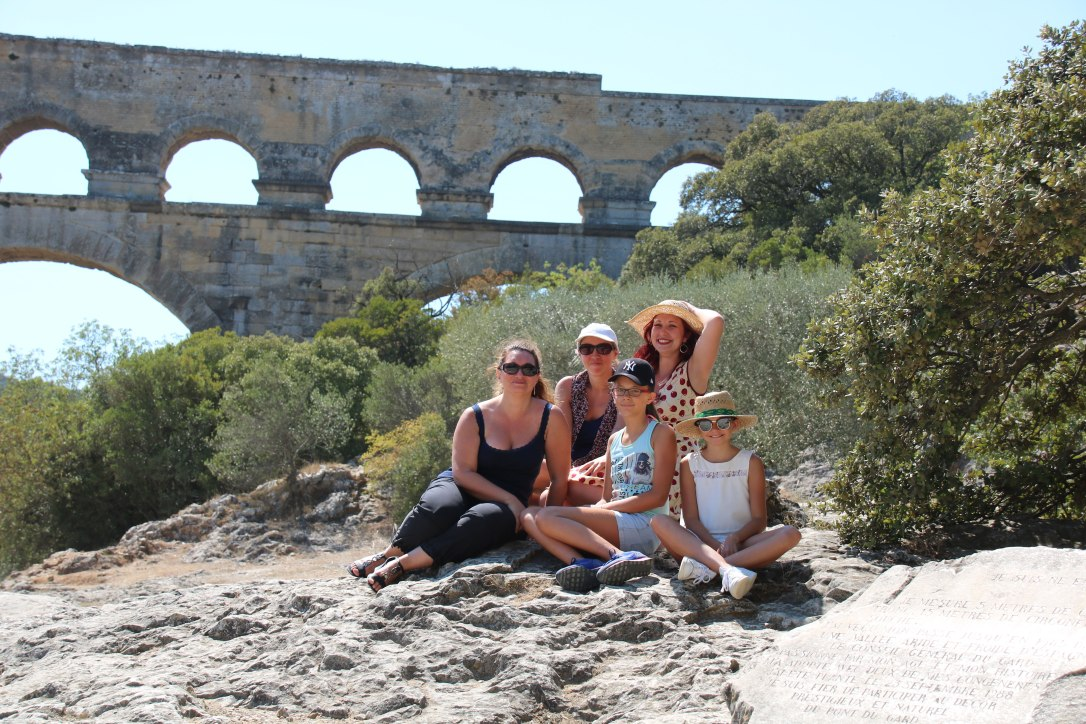 team-taties-pont-du-gard