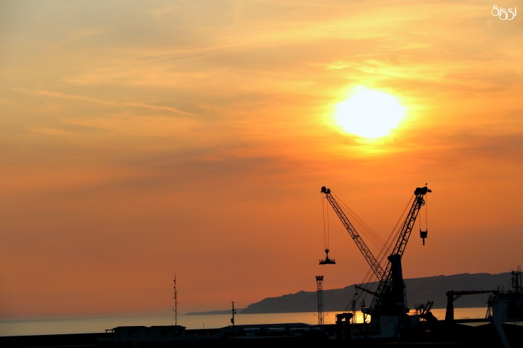 Industrial Sunrise - Marseille